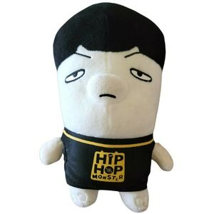 Hip Hop Monster SUGA BTS Official Plush Doll Toy0